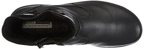 Josef Seibel Schuhfabrik GmbH Fabienne 02 Damen Langschaft Stiefel Schwarz (schwarz 600)