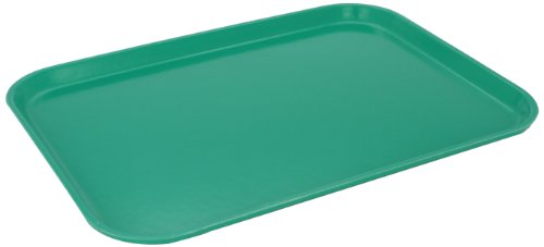 - Carlisle 1612FG017 Fiberglass Glasteel Solid Rectangular Tray, 16.37