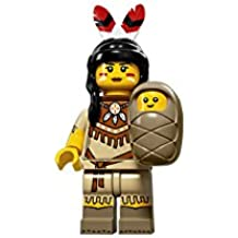 LEGO Series 15Collectible Minifigure 71011–Tribal Mujer con bebé