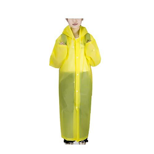 Paquet Imperméable Of Yellow Jetable raincoat Portable Camping Pieces Le 100 Randonnée De La Weifan Pluie Rose set Idéal Ponchos Pour Imperméables Avec Et Poncho qvXBwqF