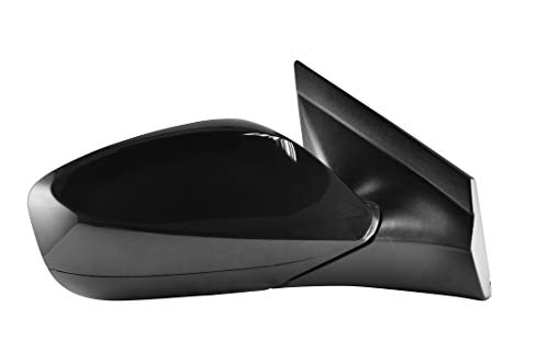 - Passenger Side Unpainted Side View Mirror for 2012-2017 Hyundai Accent