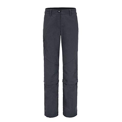 maier sports Zip Off Hose Fulda - Pantalones para mujer grey - grey - graphite
