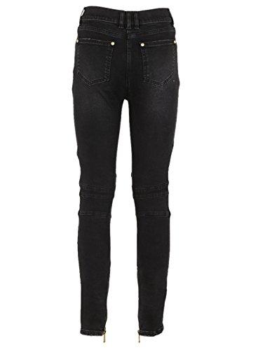 Femme Balmain 105593118KC4715 Jeans Coton Gris qqrdwAx