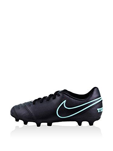 Nike Jr. Battipalo Per Terra Ferma Tiempo Rio Iii (fg) Nero