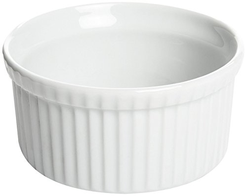 Fox Run 16-Ounce Souffle Dish, White (16 Oz Baking Dish)