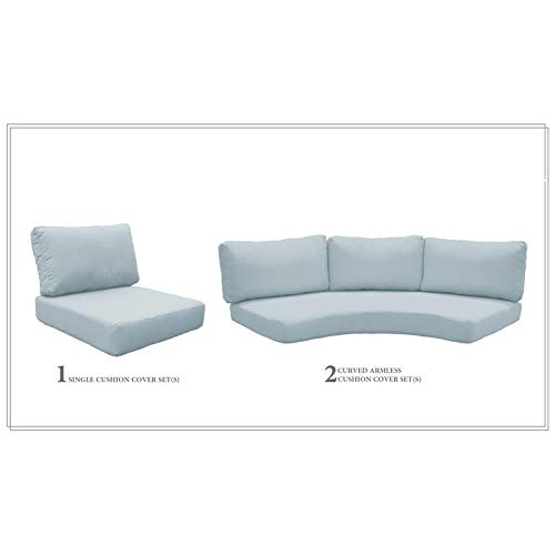 TK Classics High Back Cushion Set for FLORENCE-06n