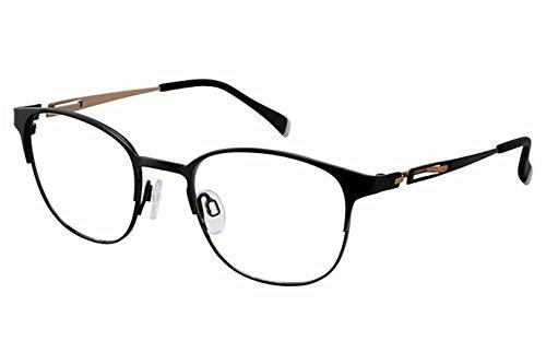 Charmant Perfect Comfort Eyeglasses TI12326 TI/12326 BK Black Optical Frame - Ti Brand Glasses