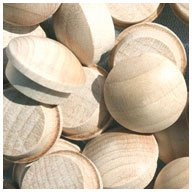 WIDGETCO 5/8'' Maple Button Top Wood Plugs