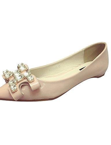 De 5 classic us7 5 Pdx Tacón Pink Casual Flats Toe de Negro Zapatos Uk5 rosa Elegante Eu38 Mujer Cn38 La Señaló 0aqxFwfa