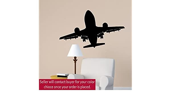 Amazon Com Airplane Wall Decal Jet Airliner Sticker