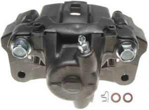 Raybestos Brakes FRC10464N Brake Parts Inc Raybestos Element3 New Semi-Loaded Disc Brake Caliper and Bracket Assembly Disc Brake Caliper Raybestos Element3 New Semi-Loaded Caliper & Bracket Assy