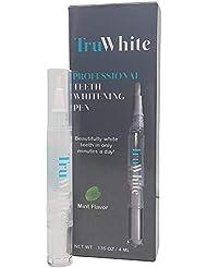 TruWhite Teeth Whitening Pen - Active Oxygen & Carbamide Peroxide, 30+ Treatments, 4ML, Zero Sensitivity & Professionally Formulated