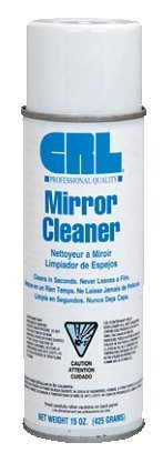 CRL Mirror Cleaner and Polish - Pack of 3 Cans