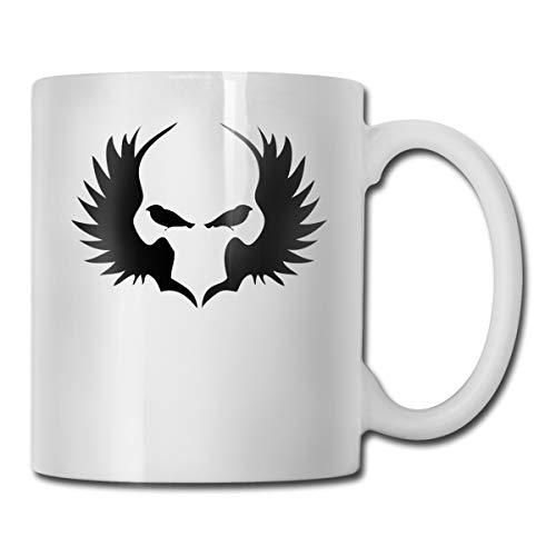 Riokk Az Cool Clown Face 11oz Coffee Mug Funny Cup Tea Cup Birthday Ceramic -