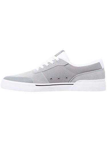 Skate Super Series Suede Plus DC Shoe Switch Grey White Core 0xqEpBg