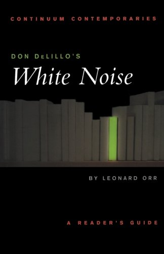 a literary analysis of the modernistic novel white noise by don delillo Delillo, the national book award-winning author of novels including underworld and white noise, is the winner of the library of congress prize for american fiction, which honours an american.