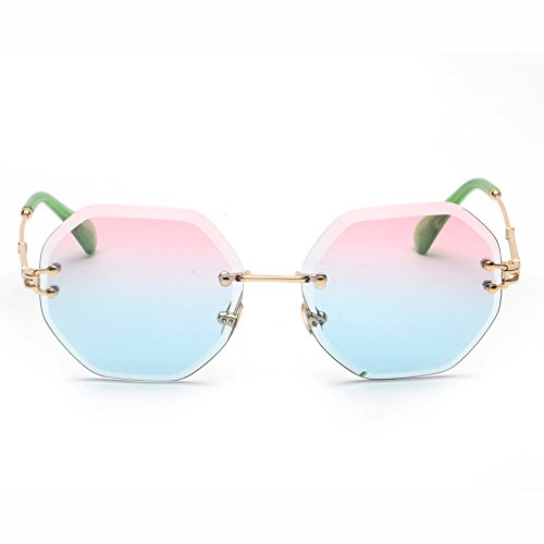 Gafas de UV400 TL Marco Sol Octagon Mujer sin Sunglasses IXPxawPR