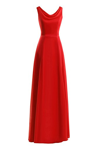 Red Fornmal Gown Women's Party Evening Dasior Dress Long Prom BxTwqw86z