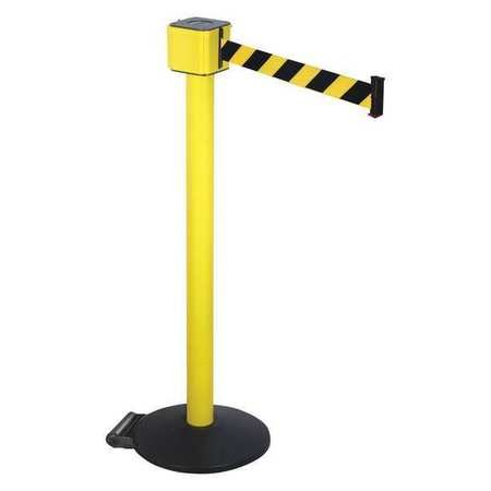 (Barrier Post with Belt, 40 In. H, 30 ft. L)