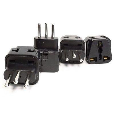 EopZol™ 2 in 1 Universal/USA to Switzerland (Type J) Travel Adapter Plug - 4 Pack