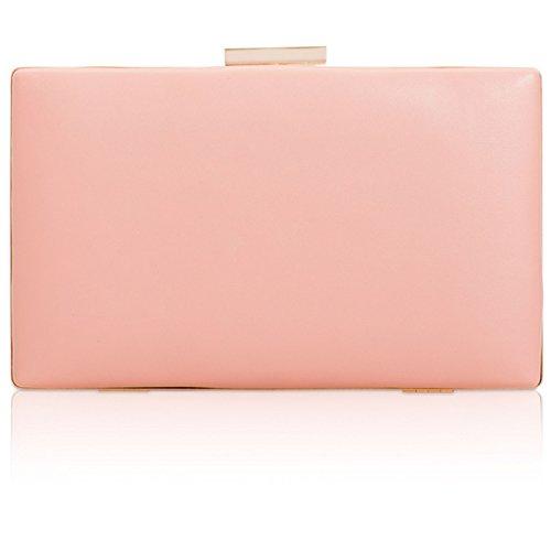 Xardi London - Cartera de mano de piel sintética para mujer Pink Style 3