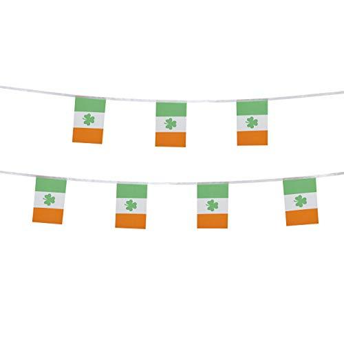 TSMD 100 Feet St Patricks Day Flag Small