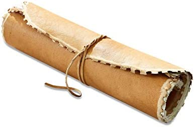 Loberon Notizbuch Keltron, Büffelleder, Baumwollfasern, H/B/T ca. 2/20 / 28 cm, braun