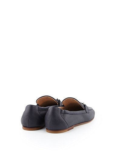 Tods Ladies Xxw79a0x0105j1u824 Mocassini In Pelle Blu