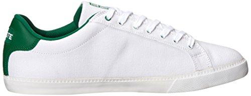 Lacoste Heren Grad Vulc Fashion Sneaker Wit / Groen