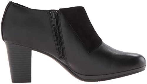 Clarks Suede Sandra Women's Black Boot Brynn Leather qq6np4B