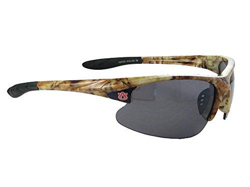 Auburn Tigers AU Camo Action NCAA Mens Sunglasses - Sunglasses Au
