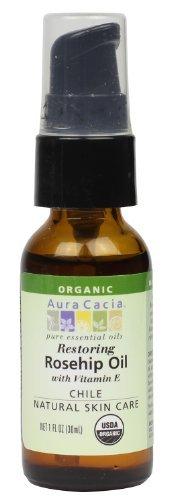 Aura Cacia, Organic, Rosehip Oil, Restoring, 1 fl oz  by Aur