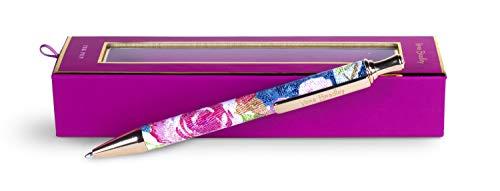 Vera Bradley Black Ink Ballpoint Pen, Superbloom