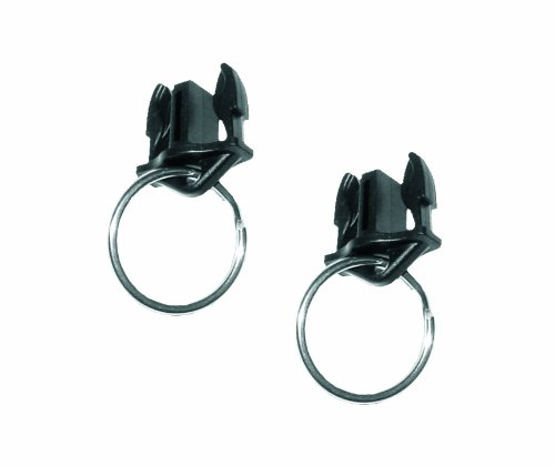 (Gear Keeper AC0-0911 Quick Connect II Male Adapter with 1-Inch Split Ring (2-Pack))