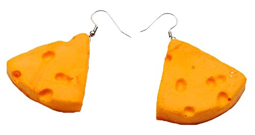 - CHEESEHEAD EARRINGS
