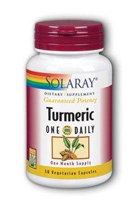 Turmeric One Daily Solaray 30 - Turmeric Solaray Extract Root