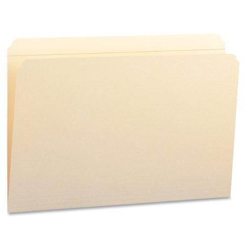 (Smead File Folder, Reinforced Straight-Cut Tab, Legal Size, Manila, 100 Per Box (15310))