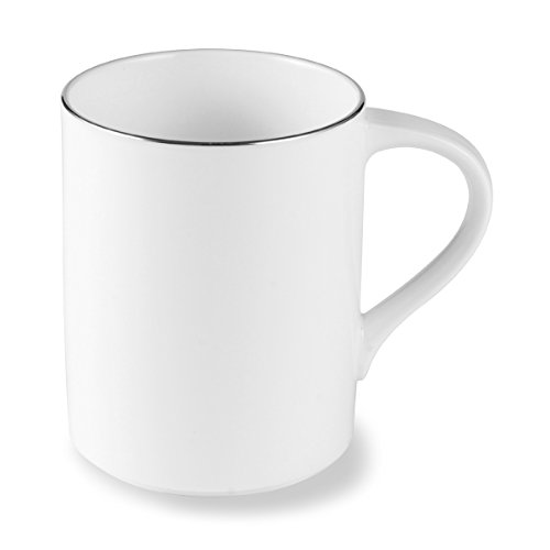 Mikasa Couture Platinum Coffee Mug, 12 Ounce