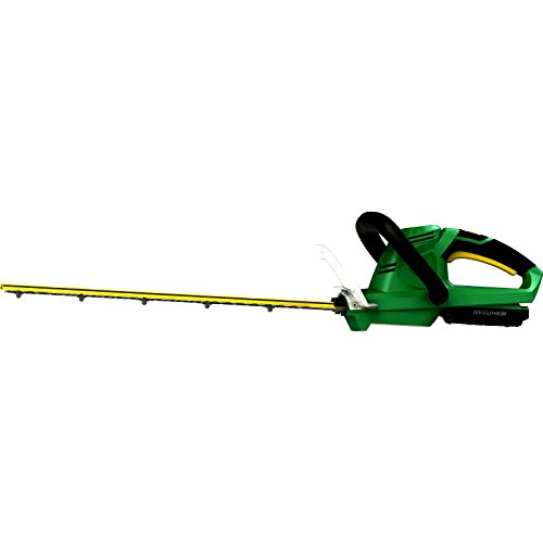 Outdoor Weed Hedge Trimmer Battery-Powered 20'' Dual Action With Battery Charger Gardening Tools Patio Garden Yard - Skroutz by Skroutz