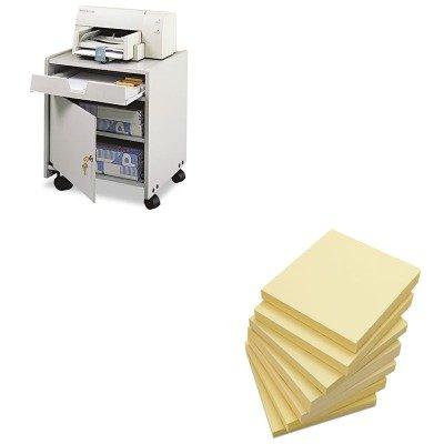 KITSAF1854GRUNV35668 - Value Kit - Safco Office Machine Mobile Floor Stand (SAF1854GR) and Universal Standard Self-Stick Notes (UNV35668)