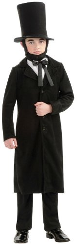Lincoln Costumes (Rubie's Child's Deluxe Abraham Lincoln Costume, Medium)