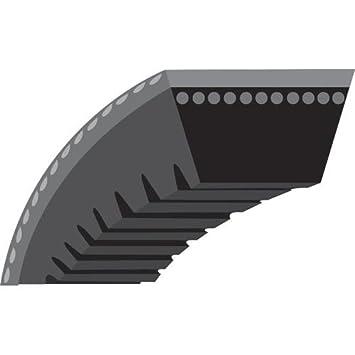 Correa trapezoidal: SPZX670 con muescas para cortacésped ...