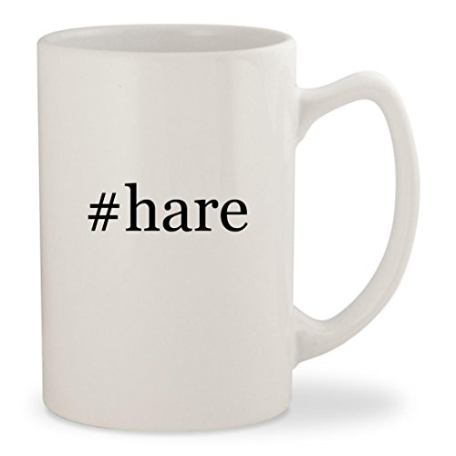 #hare - White Hashtag 14oz Ceramic Statesman Coffee Mug (Burke And Hare Costume)