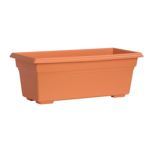 Novelty 331313 Countryside Patio Planter Box, Terra, 27 Inch