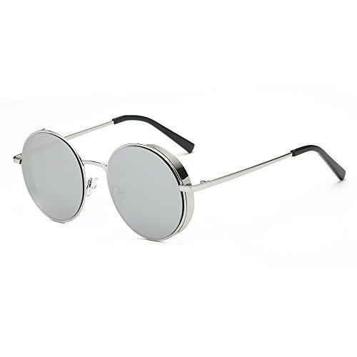 F Lunettes soleil marque Classic Femmes de Lonshell lunettes Métalcadre hommes quadrate wgvwF4q