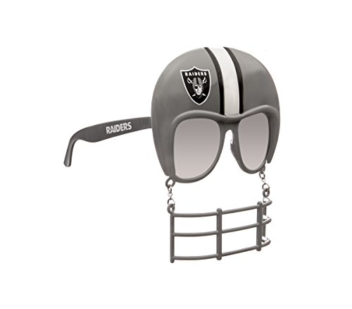 Rico Industries NFL Oakland Raiders Novelty Tailgating Sunglasses