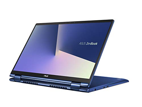ASUS ZenBook Flip 13 UX362FA Intel Core i7 8th Gen 13.3-inch FHD Touchscreen 2-in-1 Thin & Light Laptop (8GB RAM/512GB NVMe SSD/Windows 10/Integrated Graphics/Royal Blue/1.30 Kg), UX362FA-EL701T