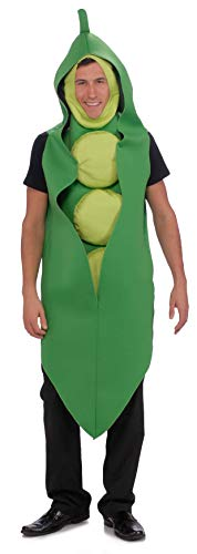 Rubie's Pea Pod Adult Humor Costume, Green, Standard