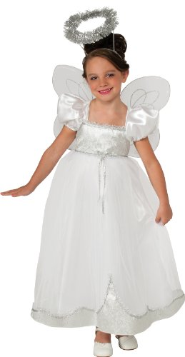 [Rubies Angelique Angel Costume, Medium] (Angel Fancy Dress)
