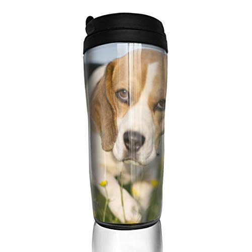 ZYGCMYX Getty Dog Have an Outing Printed Graphic Coffee Cup Insulated Travel Car Mug